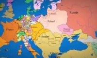 Jak w ciągu tysiąca lat zmieniały się granice Europy