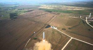 Start i lądowanie rakiety Grasshopper