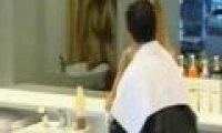 Ukryta kamera - fryzjerka