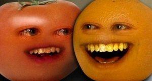 Nieznośna pomarańcza - pomidor