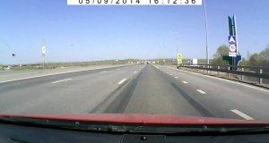 Ostry bałagan na drodze