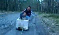 Wiejski bobslej