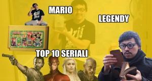 Cyber Marian #48: Mario, konkurs Legendy YT i TOP 10 seriali