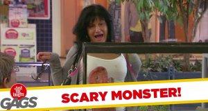 Ukryta kamera - przerażający potwór