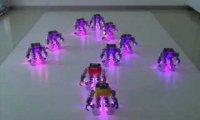 Świąteczny taniec robotów