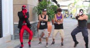 Deadpool vs Gangnam Style