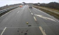 Wypadek Mclarena 650s w Polsce