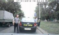 Konfrontacja drogowa w Rosji