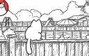 Kot Siomna - płot