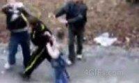 Bójka w obronie dziewczyny