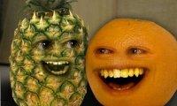 Nieznośna pomarańcza - ananas