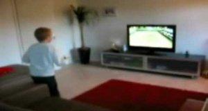 Dziecięcy test telewizora