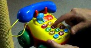 Dziecięcy telefonik