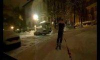 Na nartach po mieście