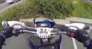 Uprzejmy motocyklista