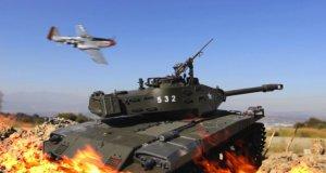 Niesamowita bitwa modeli czołgów