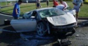 Rozwalone Lamborghini