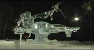 Pomnik z lodu