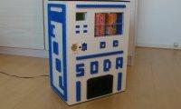 Automat z napojami z Lego
