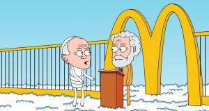 Papież idzie do nieba