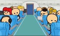 Cyanide & Happiness - Na pokładzie samolotu