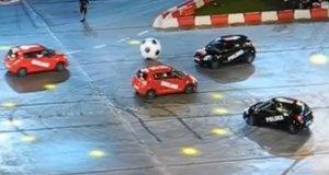 Mecz Polska - Anglia na stadionie Narodowym podczas Top Gear