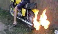 Ghost Rider - czyli motor + ogień
