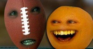 Nieznośna pomarańcza - piłka