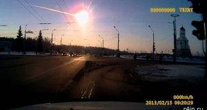 Nagranie spadającego meteorytu - USA i Bliski Wschód
