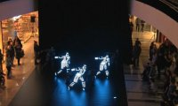 Taniec z diodami LED