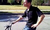 Folia bąbelkowa + rower