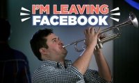 Jeżeli ludzie opuszczaliby imprezy, tak samo jak Facebooka