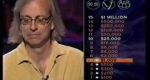 Milionerzy - zabawny facet