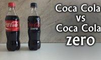 Test zawartości cukru - Coca Cola i Coca Cola Zero