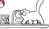 Kot Simona - przygody na półce
