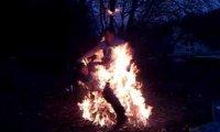 Skok przez ognisko
