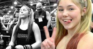 Gdy 13-letnia dziewczyna bierze 110 kg na klatę
