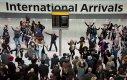 Przywitanie na lotnisku