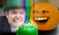 Nieznośna pomarańcza - leprechaun