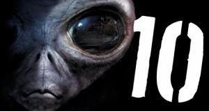 10 niewiarygodnych obserwacji UFO
