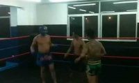 Amator vs Instruktor Muay Thai