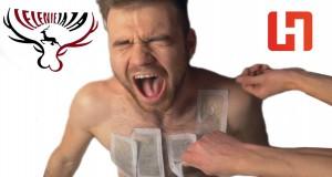 Faceci kontra depilacja woskiem