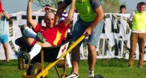 Pomoc medyczna w czasie meczu w Rumunii