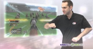 Najśmieszniej wyglądająca gra na XBox Kinect
