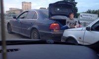 Holowanie auta po rosyjsku