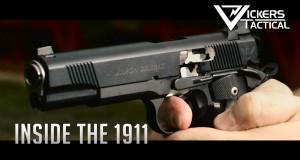 Pistolet 1911 w zwolnionym tempie