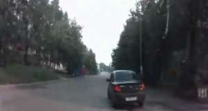 Kierowca się przestraszył