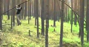 Leśny taniec Rosjanina