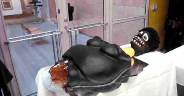 Boleśnie wyglądające ciasto