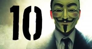 10 faktów o Anonymous